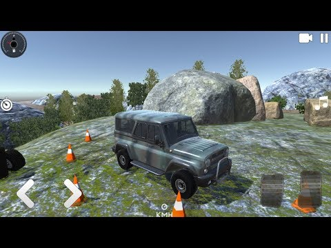 Offroad 4x4 Russian Полный привод Uaz и Niva  - Android Gameplay HD #AndroidGAMES