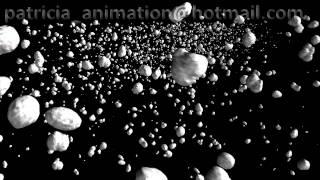 Asteroids Belt Animation