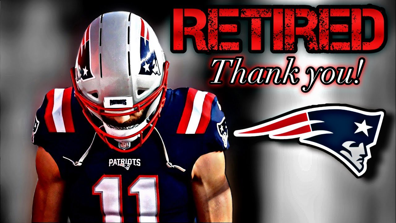 Patriots WR Julian Edelman Announced His Retirement