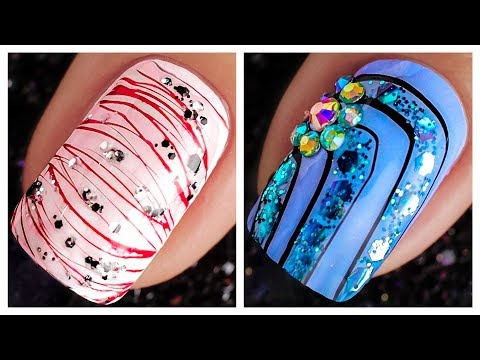 Easy And Cute Nail Art Design 2019 ❤️💅 Compilation | Simple Nails Art Ideas Compilation #82 thumbnail