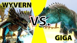 Giganotosaurus vs. Wyvern | Special KampfArena ► Ark: Scorced Earth | Ark SE Gameplay #DGZ