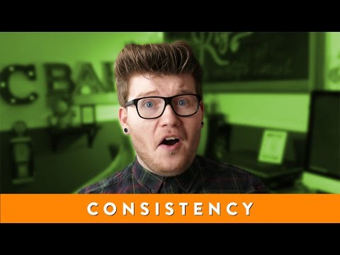 CONSISTENCY is KING – Logo Design & Hand Lettering