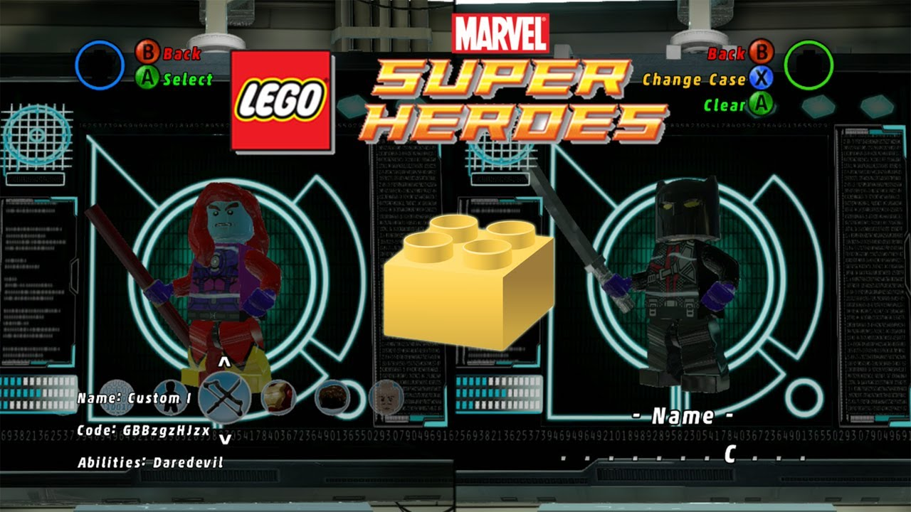 Havok Marvel Lego