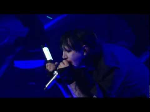Marilyn Manson - Sweet Dreams Feat. Johnny Depp 'Live @ Revolver Golden Gods 2012' HD