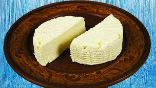 Я Просто смешала Молоко и Сметану - результат меня Шокировал!!! Вкусный Сыр в Домашних условиях