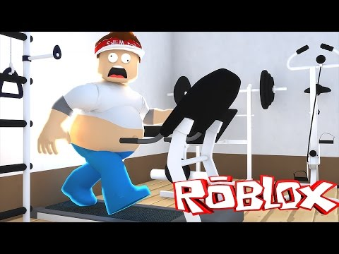 Roblox : FUJA DA ACADEMIA !! ( Roblox Escape the Gym )
