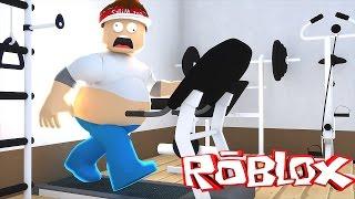 Roblox : FUJA DA ACADEMIA !! ( Roblox Escape the Gym )
