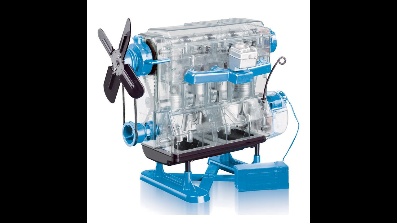 Mini Plastic 4-cylinder Engine