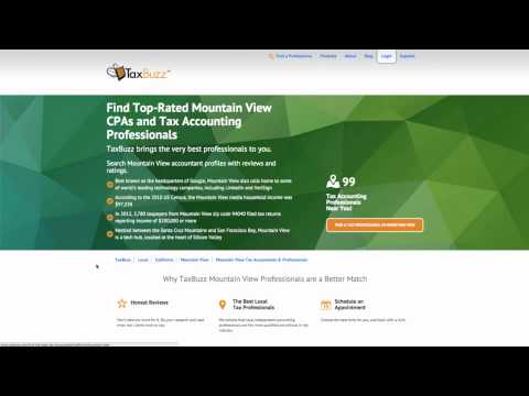 Find Five Star Rated Mountain View CPAs and Tax Accounting Professionals