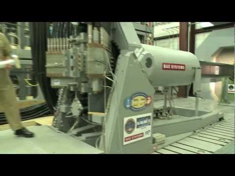 BAE Systems - Naval Electromagnetic Railgun Prototype Fires First Shot [1080p]