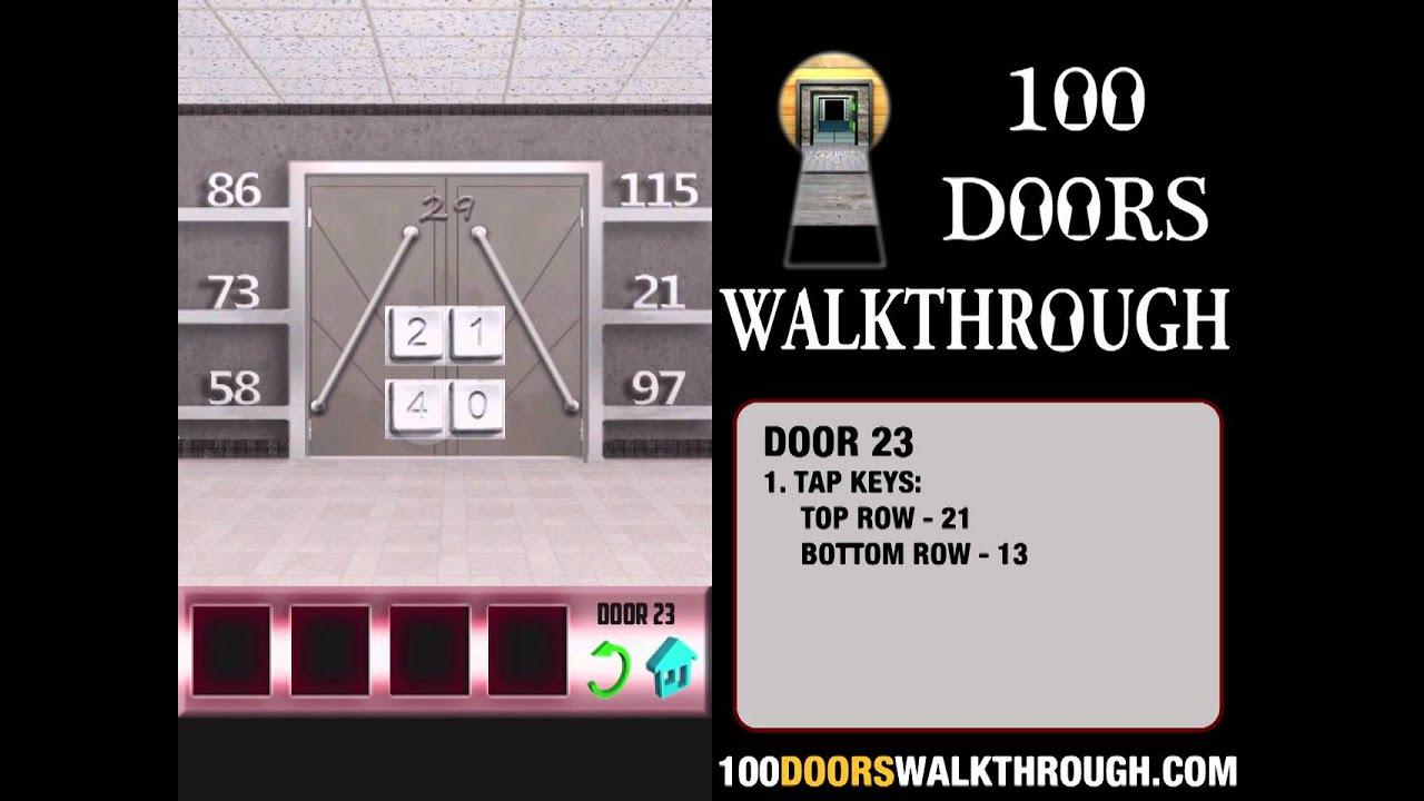 100 doors x door 23 walkthrough iphone 100 doors x 23 for 100 doors door 23