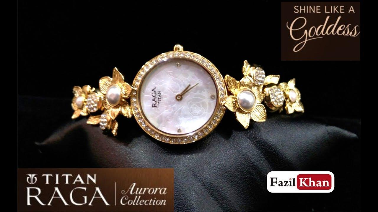 271f5b9d025 Titan ladies watch Raga aurora fast moving collections - Watch Gallery