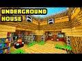 Minecraft Big Underground House Tutorial (How to Build Ideas)