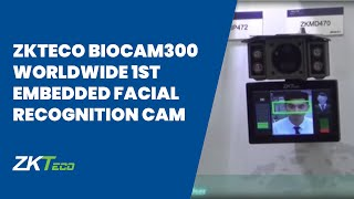 zkteco biocam300 worldwide 1st embedded facial recognition ip camera