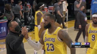 LeBron's Defense And Clutch Three Close Out Thunder In <b>Lakers</b> ...