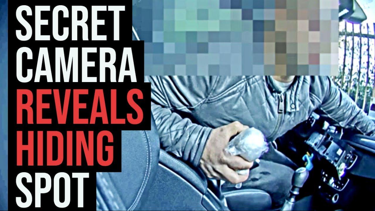 Gang's secret hiding spot revealed by hidden camera