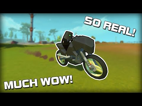 The Most REALISTIC Creations You Ever Did Done See. (Scrap Mechanic Gameplay)