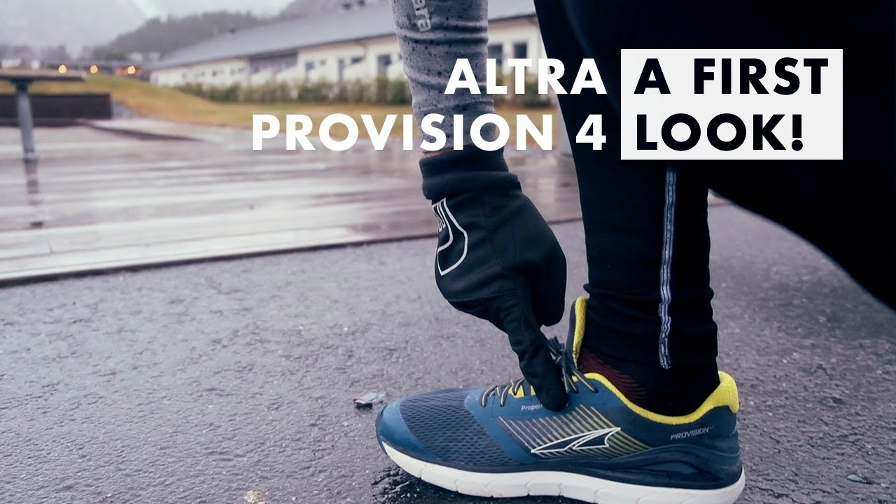 ALTRA PROVISION 4 - A FIRST IMPRESSION