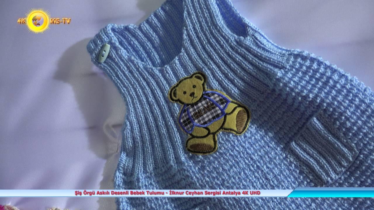 Tor Örgü Bebek Tulumu Yapılışı