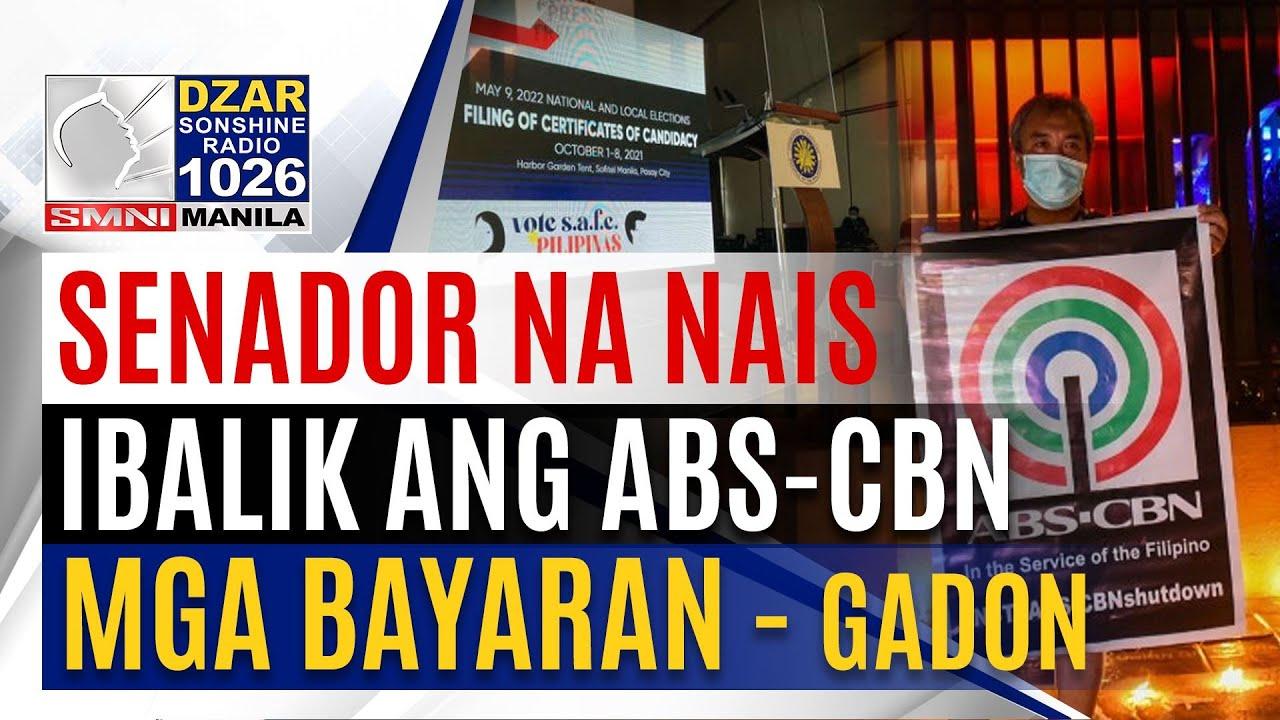 Download #SonshineNewsblast: Mga senador na nais ibalik ang ABS-CBN,mga bayaran - Gadon