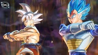 NEW FUSION: Goku UI and Vegeta Beyond SSB VS Zen-Oh Fusion -...