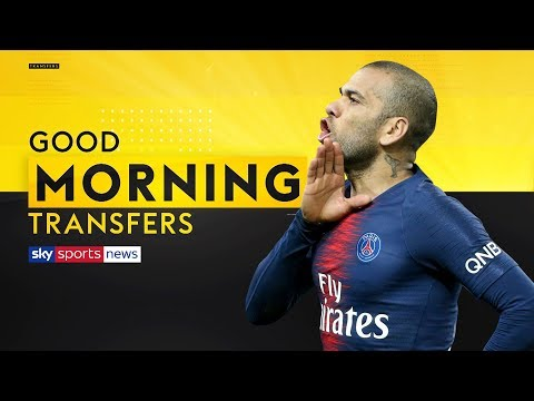 Should Arsenal sign 36-year-old free agent Dani Alves? | Good Morning Transfers