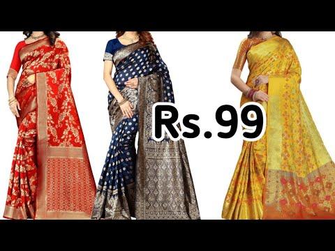 buy-designer-silk-saree-rs.99-//-stylish-saree-in-cheap-price-//-buy-online
