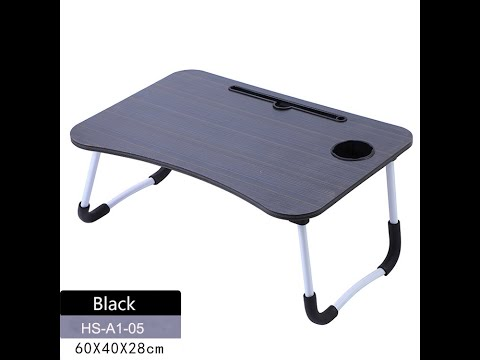 Simple Design MDF Portable Laptop Table Computer Tray for ...