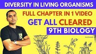 DIVERSITY IN LIVING ORGANISMS (FULL CHAPTER) | CLASS 9 SCIENCE thumbnail
