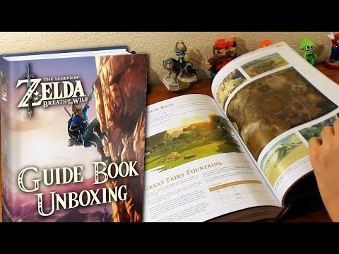 Zelda: Breath of the Wild Collector's Edition Guide Book - Unboxing