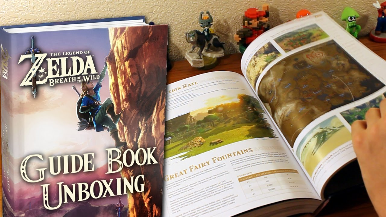 zelda breath of the wild official guide pdf download