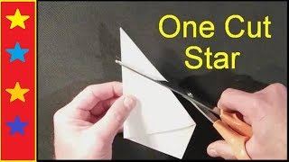 Download Make a perfect star with ONE cut! Mp3 and Videos