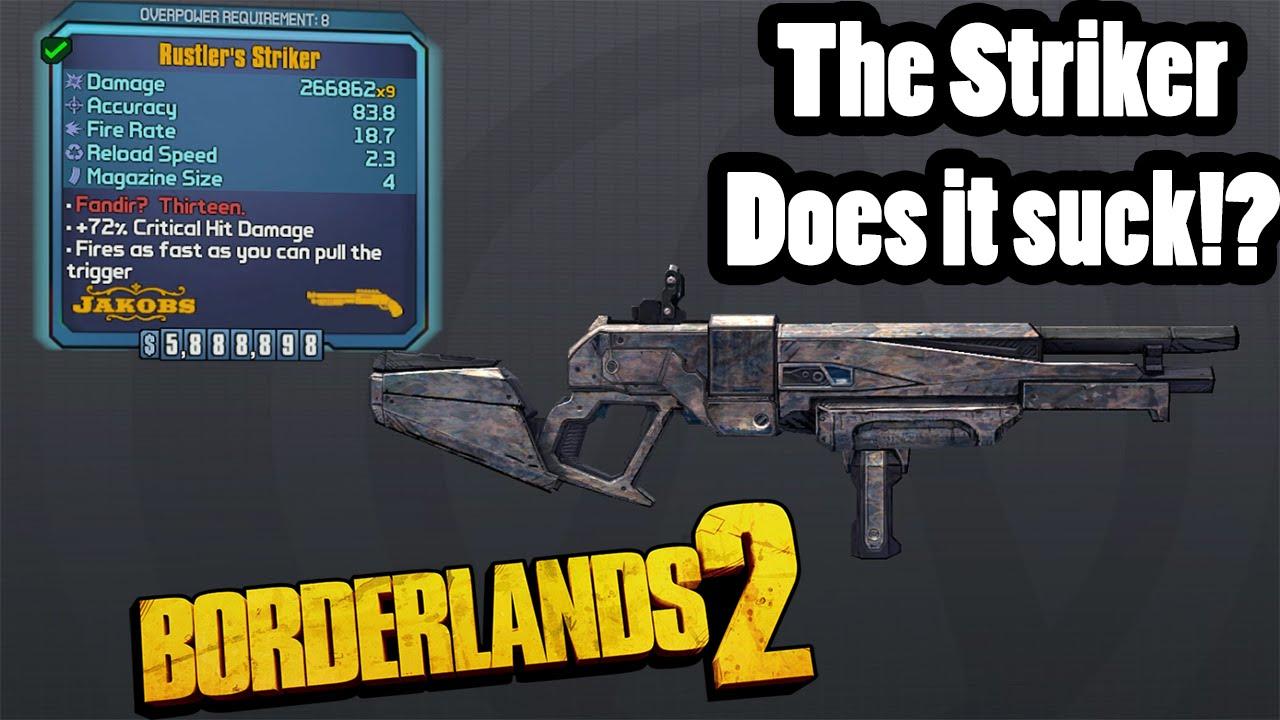 Borderlands 2: Legendary Jakobs Striker- Does it Suck?