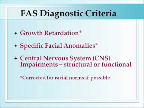 Foundations of Fetal Alcohol Syndrome