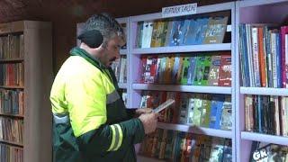 Von Müllmännern gerettet: Die weggeworfene Bibliothek