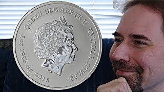 Tuvalu 1 Dollar 2018 Coin (Black Panther)