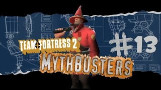 TF2 Mythbusters! Unluckiest Episode!