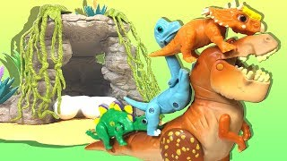 【ANIA】Protect the dinosaur baby! Where did the mother go? MECARD