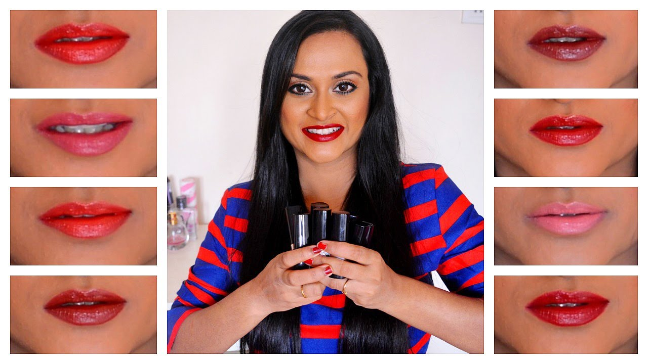 Avon True Color Lipsticks Review And Swatches Youtube