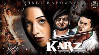 KARZ 1980 HD | Rishi Kapoor | Tina Munim | Simi Grewal | Pran | Digital Art