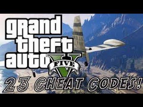 GTA 5: EVERY CHEAT CODE SO FAR PS3