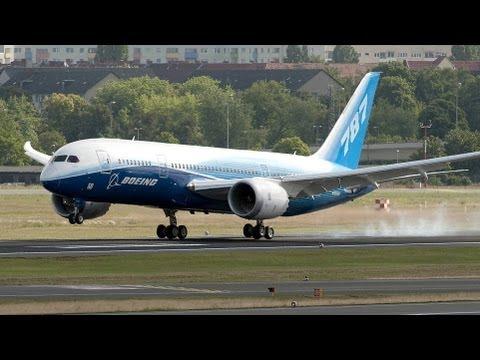 Boeing 787 Dreamliner Premiere in Deutschland