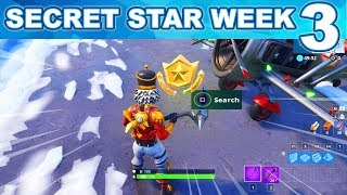 WEEK 3 Find the Secret Battle Star in Loading Screen #3 Fortnite - SECRET BATTLE STAR SEASON 7