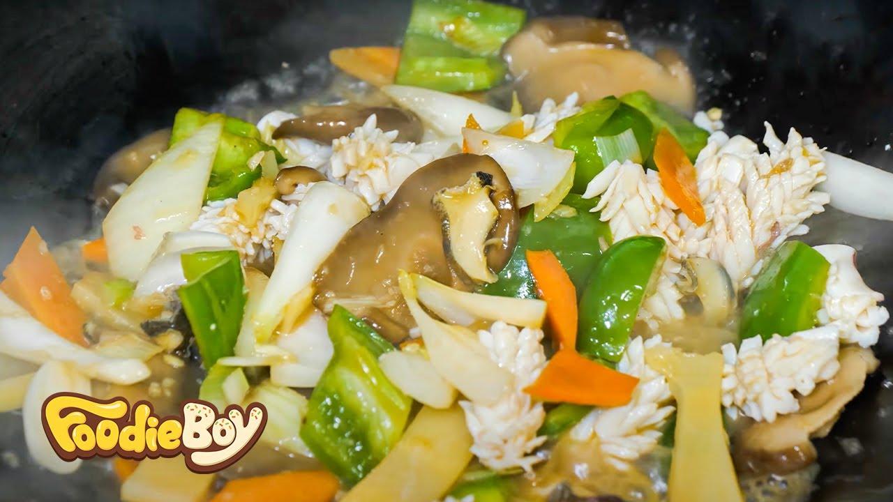 전가복 / Stewed Assorted Delicacies - Korean Street Food