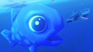 SMALLEST FISH BECOMES THE BIGGEST - Feed and Grow Fish - Part 40 | Pungence