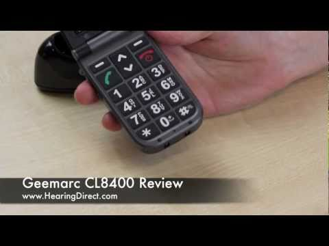 Geemarc CL8400 Mobile Phone Review By HearingDirect.com