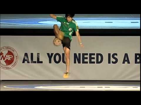 Alex vs Memo 1/4 North American Freestyle Soccer Championship 2014