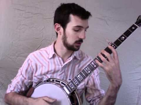 Kyle Tuttle - Banjo Lesson - Pentatonic Shapes w/ Extensions
