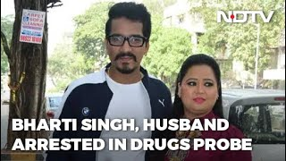 Drugs Case: After Comedian Bharti Singh, Husband Also Arrested