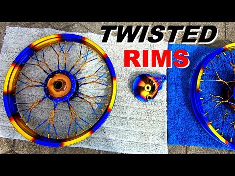 Super Cool!!! TWISTED RiMS For Your Motorcycle